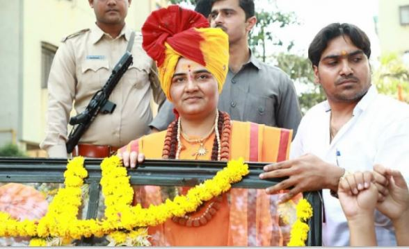 Sadhvi's-election-program-will-be-watched-by-the-Central-Organization