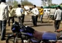 fight-between-bjp-congress-supporters-jhabua-madhypradesh