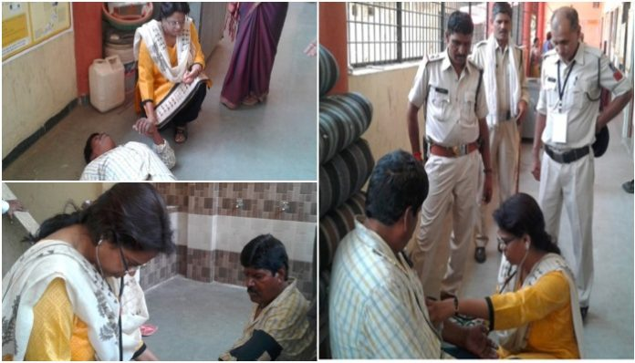 during-voting-employee-get-unconscious-doctor-positioned-at-polling-booth-saved-his-life