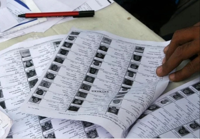The-police-seized-fake-voter's-slip-from-the-BLO-and-voter-card-also