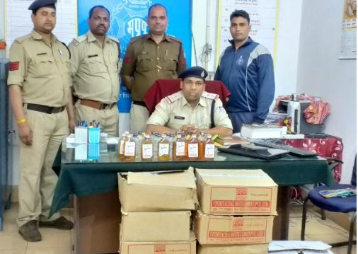 Police-arrested-illicit-liquor-with-vicious-criminals