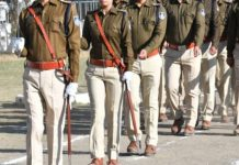 police-flag-march-in-bhopal-before-loksabha-election
