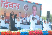 mayor-alok-sharma-staged-protest-after-pm-modi-photo-is-not-there-on-the-banner-of-yoga-progam