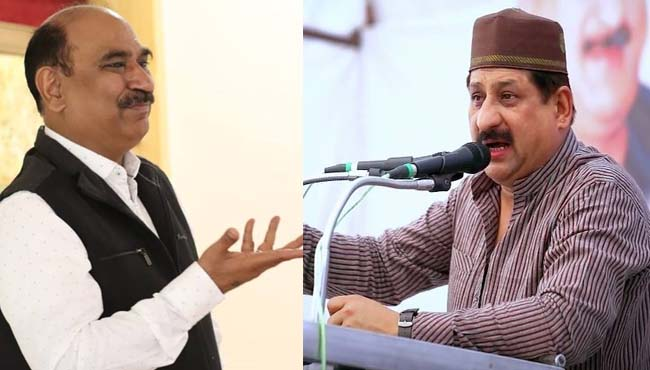 Police-officer's-post-on-the-statement-of-Congress-MLA-arif-masood-