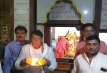 public-relation-minister-pc-sharma-visit-chind-temple