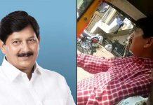 bjp-mla-ramesh-mendola-video-viral-during-drive-auto-rickshaw-