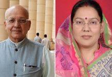 Bhagirath-prasad-ticket-cut-former-MLA-Sandhya-Rai-BJP-candidate-from-bhind-seat