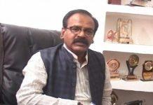 BJP-bhopal-mp-alok-sanjhar-filled-nomination-form