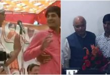 bjp-awarded-the-youngman-who-praises-pm-modi-infront-digvijay-singh