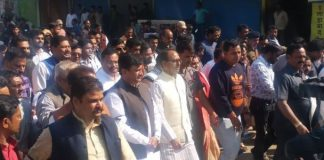 closed-in-satna-against-the-killing-of-twins-in-chitrkoot-Shivraj-joined-the-silent-procession