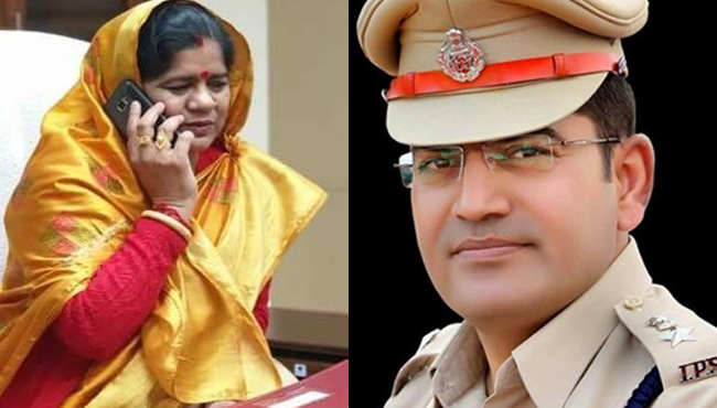 gwalior-SP-posted-sub-inspector-as-a-incharge-on-fake-letter-of-minister-imarti-devi