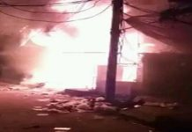 fire-in-Kerera-20-shops-burnt--loss-of-around-20-million