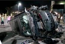 bihar-patna-rash-driving-car-Crushed-four-child-people-angry-mob-killed-driver