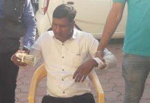 patwari-caught-during-taken-five-thousand-bribe-in-mandsaur-by-ujjain-lokayukt
