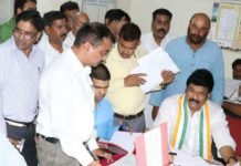 Tehsildar-raised-the-problems-of-Kamal-Nath's-minister