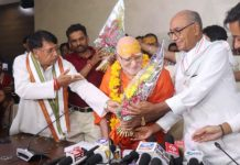 swami-subuddhananda-new-president-of-math-temple-advisory-committee-took-charge