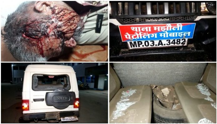 -attack-on-police-team-during-arrest-of-a-rape-accused-sidhi-mp