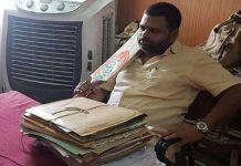 damoh-bjym-leader-vivek-agrawal-show-bat-court-sent-jail-