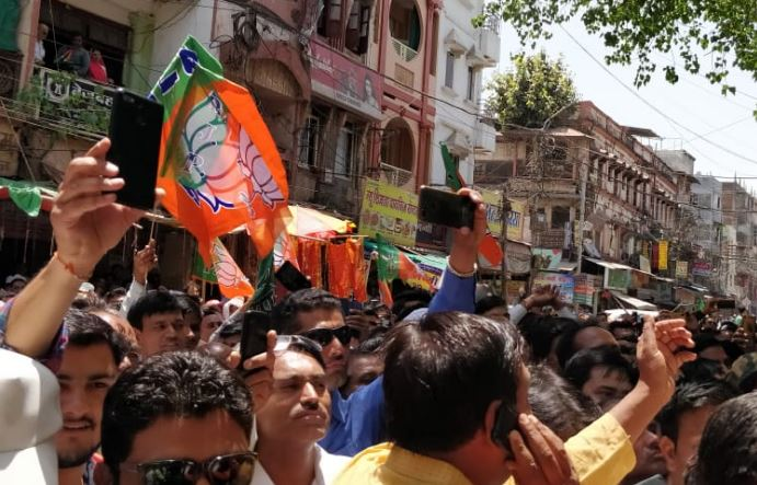 Nomination-rally-of-congress-and-bjp-in-indore