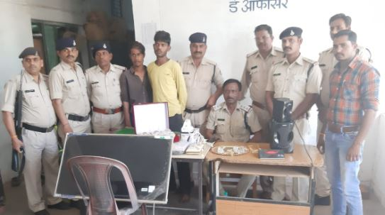 -FSL-officer's-house-stolen-four-accused-arrested