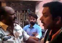 -Congress-candidate-Pravin-Pathak-ruckus-against-fake-ballot