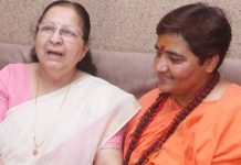 sumita-mahajan-met-with-sadhvi-pragya-thakur-in-bhopal-