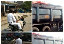 police-breaking-rule-of-traffic-in-singrauli