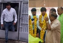 bjp-mla-akash-vijaywargiya-released-from-the-prison-in-indore-