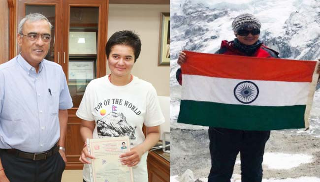 Megha-Parmar-becomes-the-first-woman-climber-to-complete-mount-Everest-Summit
