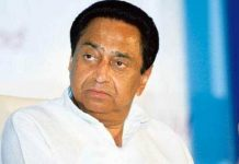 Minister-discussing-with-the-press-by-passing-Chief-Minister-Kamal-Nath's-order