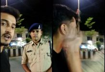 policeman-slap-engineering-student-in-indore-video-viral-madhypradesh