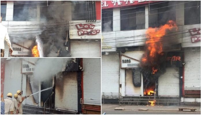 fire-in-indore-hotel-guest-came-out-from-window-madhya-pradesh