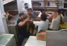 culprit-attack-on-liquor-shop-in-katni-video-viral