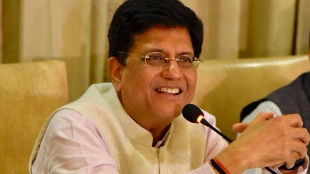 piyush goyal in charge food ministry