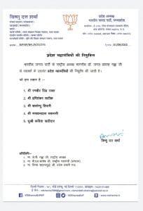 बीजेपी में प्रदेश महामंत्रियों की नियुक्ति, लंबे इंतजार के बाद कार्यकारिणी का गठन शुरू