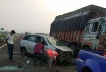 up-police-car-accident