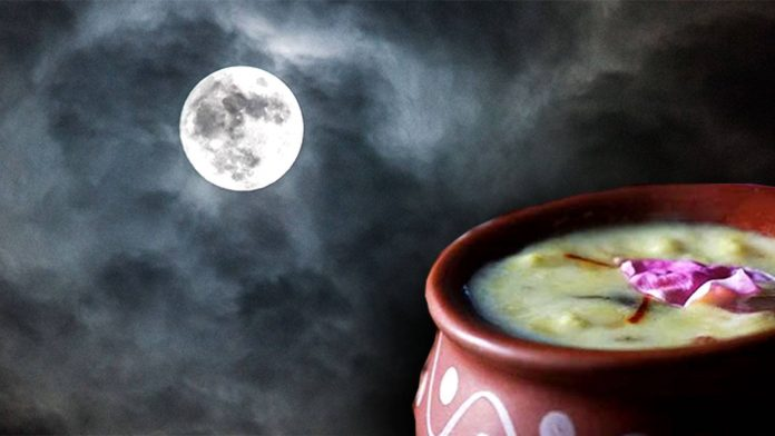 Significance of kheer on sharad poornima