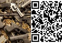 qr code on arms in bhind