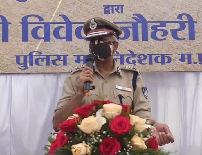 MP DGP Vivek johri in jabalpur