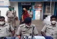 jabalpur police arrested murderer wife