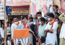 jyotiraditya scindia slams kamalnath and digvijay in dewas