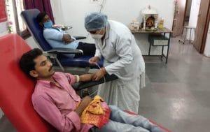 बैतूल ब्लॅड बैंक ने रचा नया कीर्तिमान, राजधानी को पछाड़ा, 3471 यूनिट हुआ रक्तदान