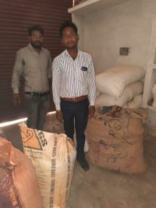 raid on factory doing adulteration