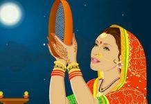 karwa chauth by muslim lady