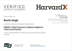 आपदा को बनाया अवसर, रूचि सिंह ने हावर्ड यूनिवर्सिटी से किया बच्चों के अधिकारों पर डिप्लोमा कोर्स