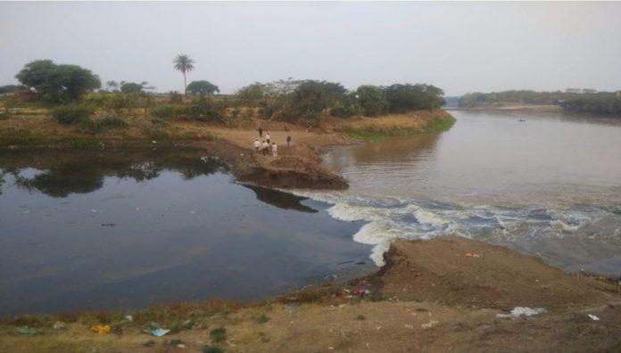 ujjain, shipra river , stop dam