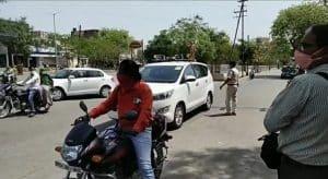 Gwalior में बिना मास्क लगाए लोगों से डेढ़ लाख की रिकॉर्ड वसूली, चप्पे चप्पे पर पुलिस
