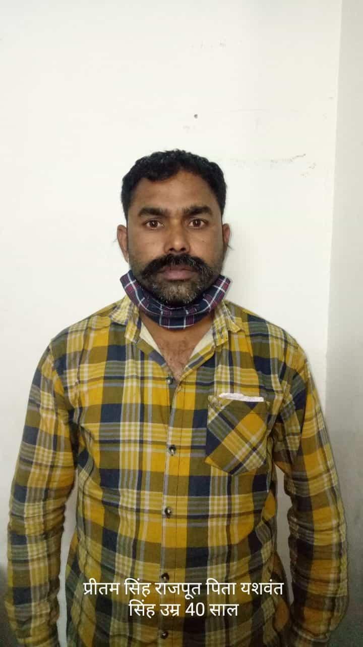 Indore News: एसटीएफ की टीम ने नकली पेंट बनाने वाले कारखाने पर मारा छापा, 4 आरोपी गिरफ्तार
