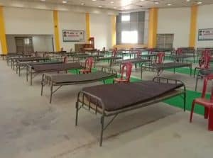 युवा नेता ने पेश की मिसाल, 200 बिस्तर का कोविड केयर सेंटर खोला, इलाज-खाना सब मुफ्त