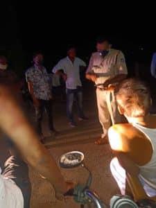 गुना डकैती : डेढ़ साल की बेटी के सर पर ताना कट्टा और उड़ा ले गए 40 तोला सोना सहित 2 लाख